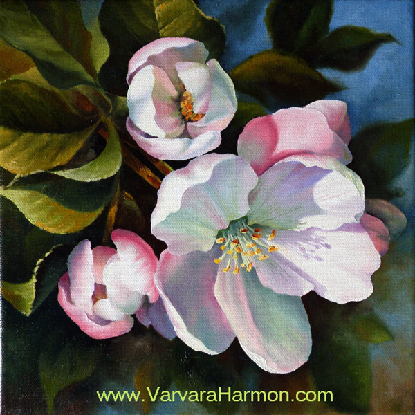 Spring Blossom - 2, oil on canvas painting