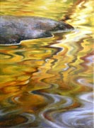Autumn Color Reflection, oil painting